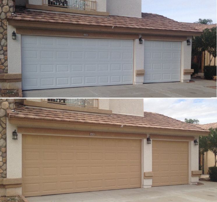 Garage Door Paint Match Services